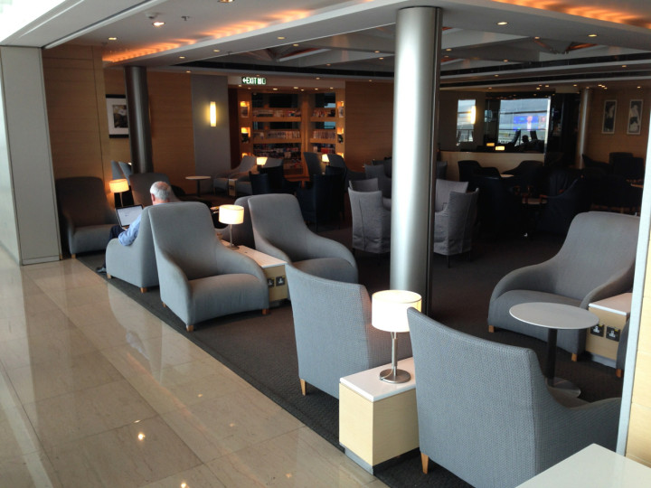 United First Class Lounge HKIA