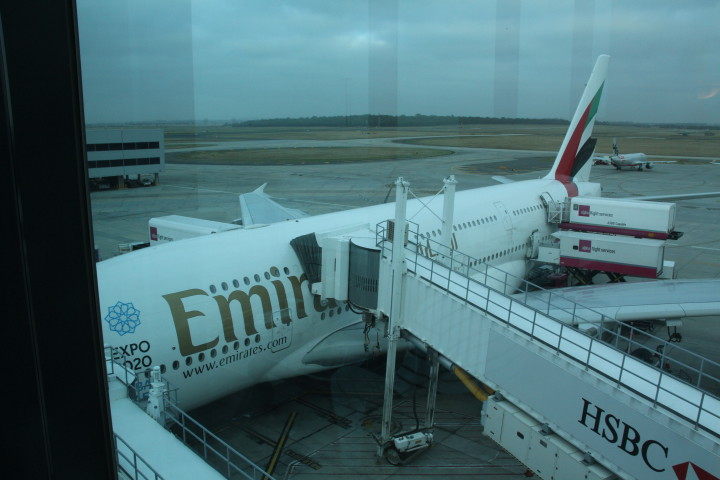 Emirates First Class Airbus A380 Melbourne-Auckland
