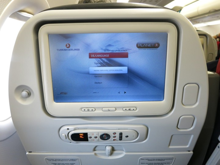 Turkish Airlines Economy class på A321: Hamburg -> Istanbul
