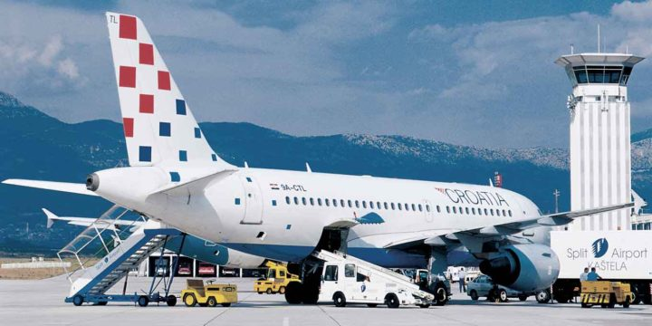 Bra service med Croatia Airlines