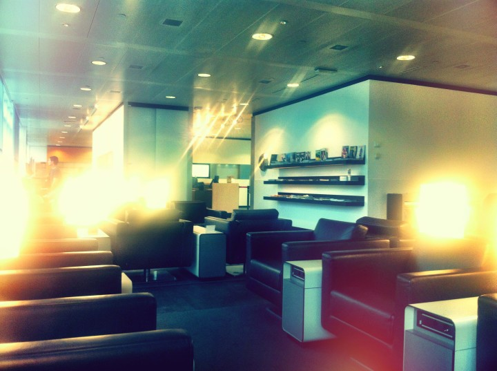 Swiss Business Class Lounge Geneve – En ganska ordinär lounge