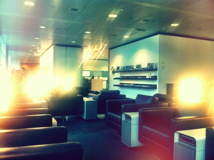Swiss First Class Lounge Geneve – En ganska ordinär lounge