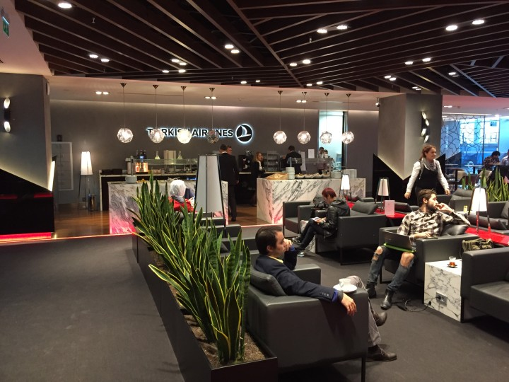 Turkish Airlines Lounge Izmir – trevlig lounge