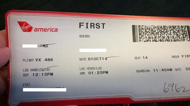 Virgin America First Class- The American way, all the way!