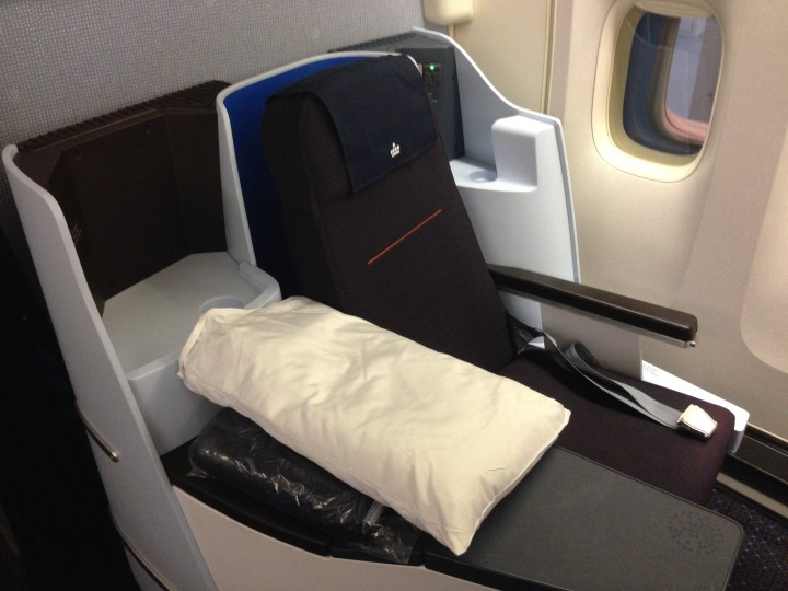 Morgonflygning med KLM World Business Class till Curaçao