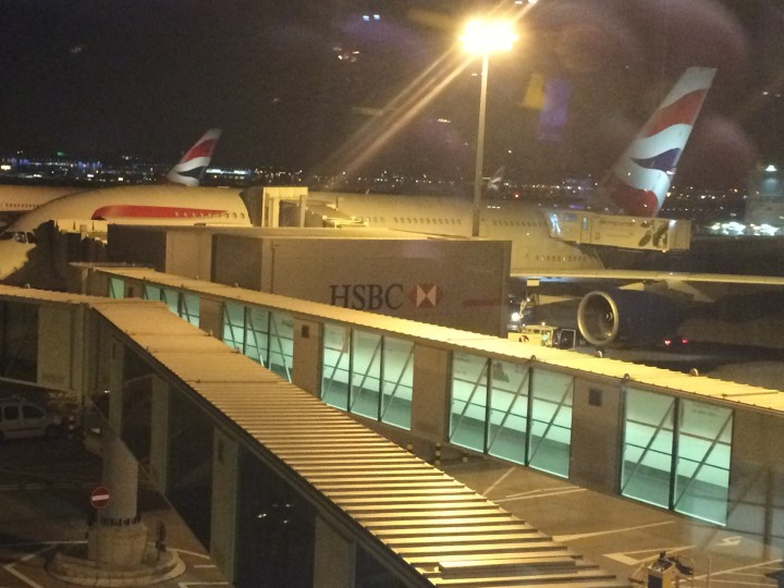 British Airways Premium Economy A380 mellan London och Singapore