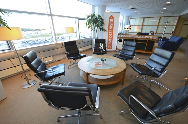 BusinessClass Meeting Point i SAS Lounge på Köpenhamn Kastrup