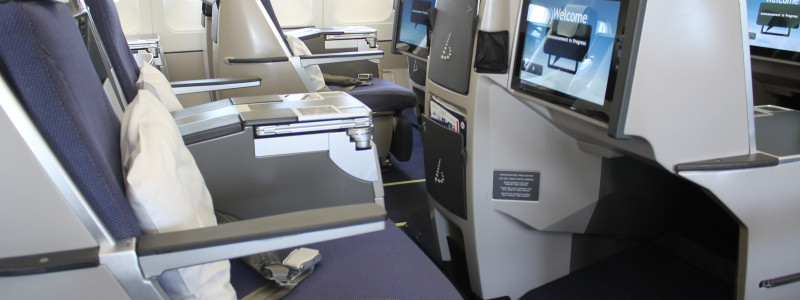 Brussels Airlines Business Class Bryssel-Dakar