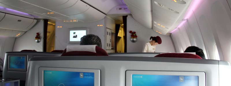 Qatar Airways Business Class Bangkok-Doha