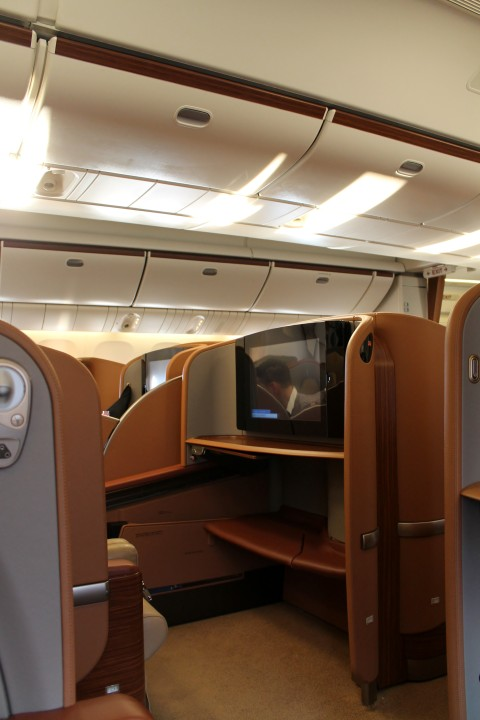 Singapore Airlines First Class Delhi-Singapore