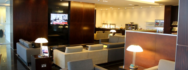 Cathay Pacific First Class Lounge, London Heathrow