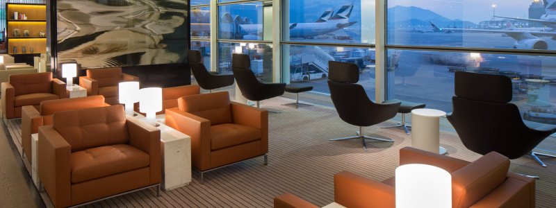 Cathay Pacific The Bridge Lounge Hong Kong