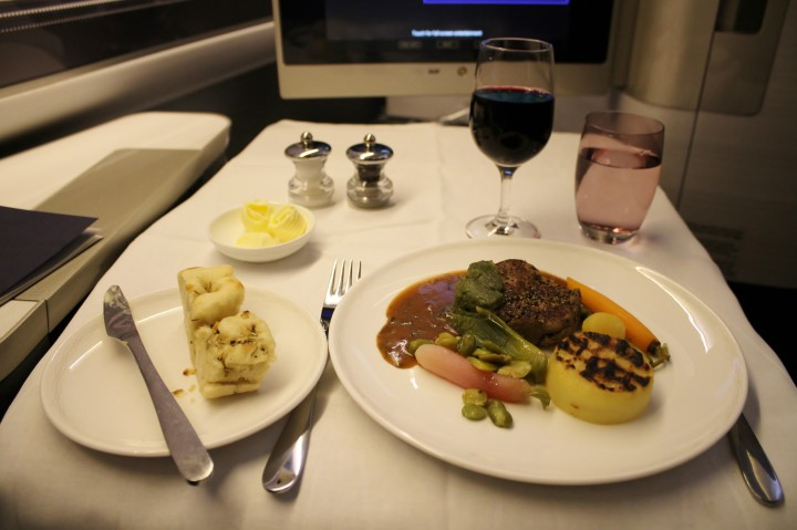 British Airways First Class London-Seoul