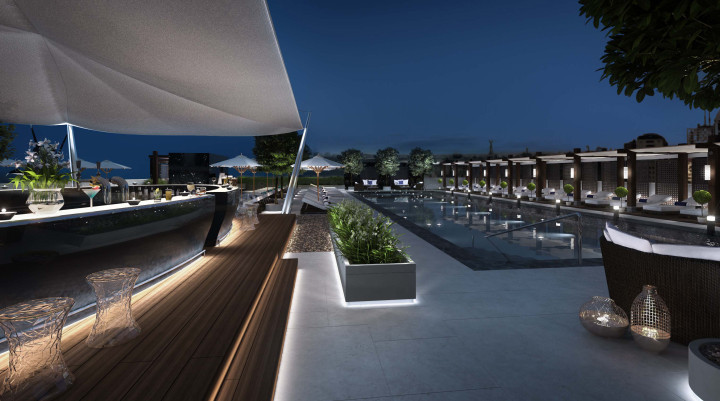 Hilton Istanbul Bomonti Hotel and Conference Center Outdoor Pool