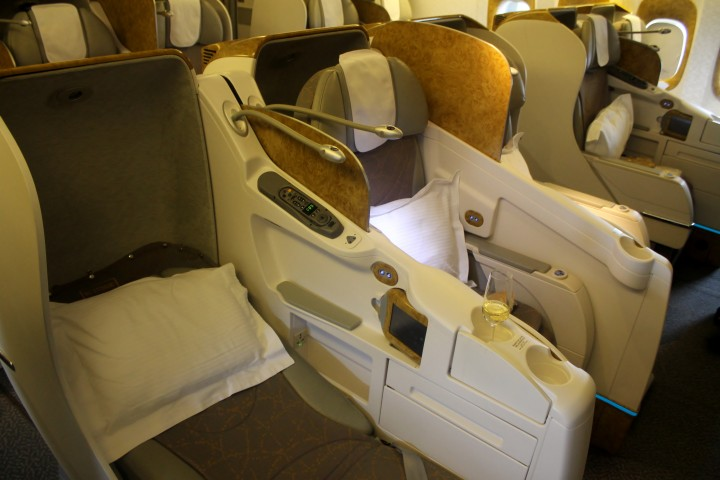 Emirates Business Class Seat Boeing 777-300