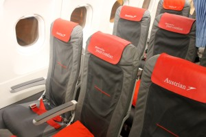 Austrian Airlines Business Class Seat Airbus A320