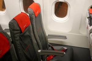 Austrian Airlines Economy Class Seat Airbus A320