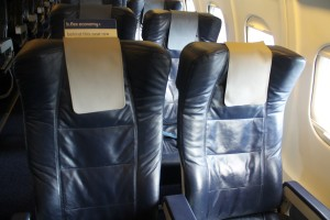Brussels Airlines Business class b.business seat Avro-100