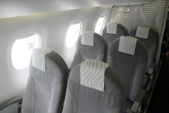 Finnair Business Class cabin Embraer 170