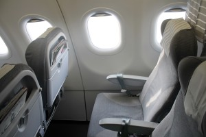 Finnair Business Class seat Airbus A320