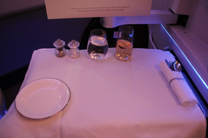 Jet Airways Business Class Singapore-Mumbai