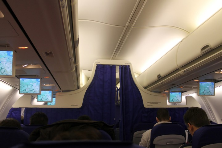 KLM Economy Class cabin Boeing 737