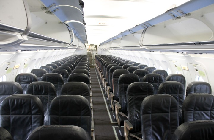 Swiss Economy Class cabin Airbus A320