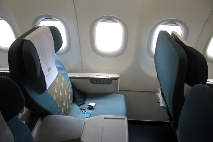 Vietnam Airlines Business Class seat Airbus A320