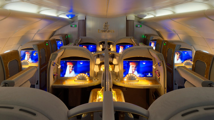 Emirates First Class Suite Airbus A380