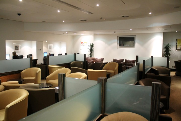 Singapore Airlines First Class Lounge, London Heathrow, Terminal 3