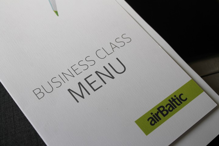 Air Baltic Business Class Riga-Stockholm