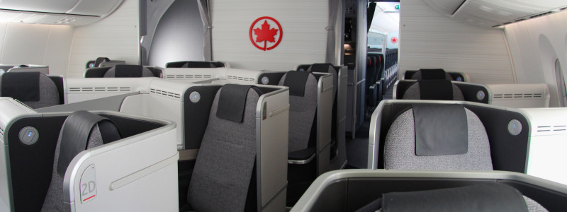 Air Canada Boeing 787 Dreamliner Business Class