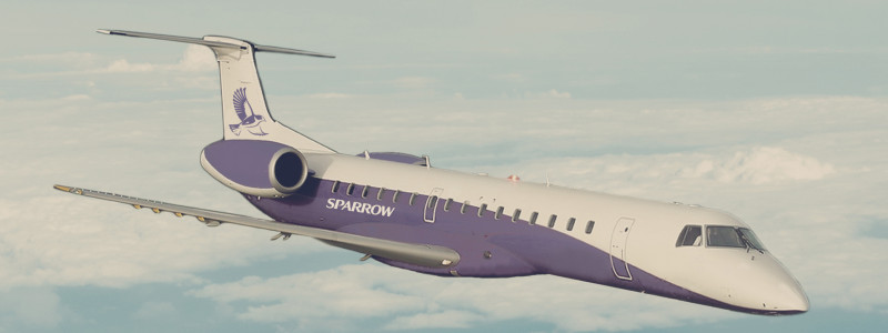 Sparrow Aviation Embraer ERJ-145