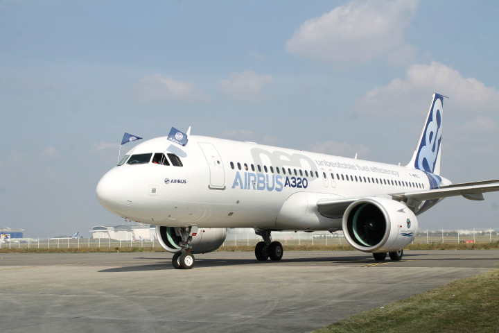 Airbus A320 NEO first flight Toulouse Blagnac