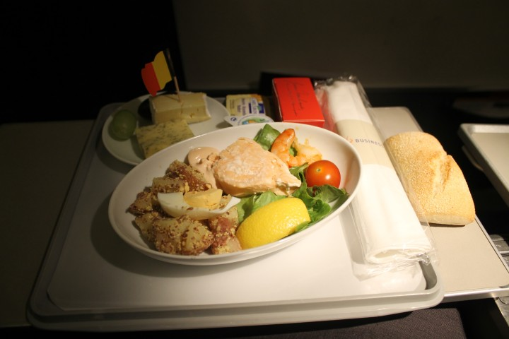 Brussels Airlines Business Class Bryssel-Toulouse
