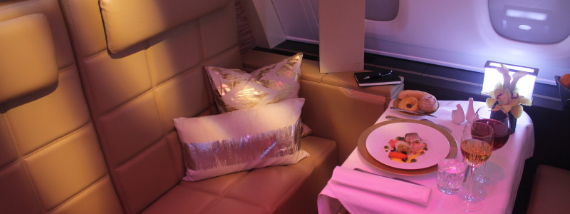 Etihad The Residence Airbus A380