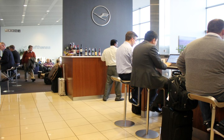 Lufthansa Senator Lounge, Washington Dulles