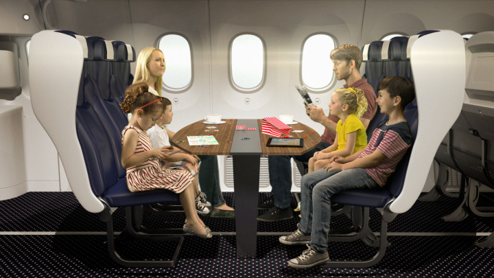 Thomson Airways Family Booth