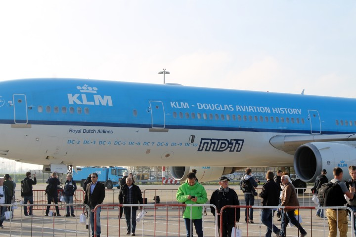 KLM Farewell MD-11