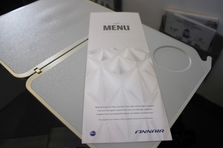 Finnair Business Class Helsingfors-Paris