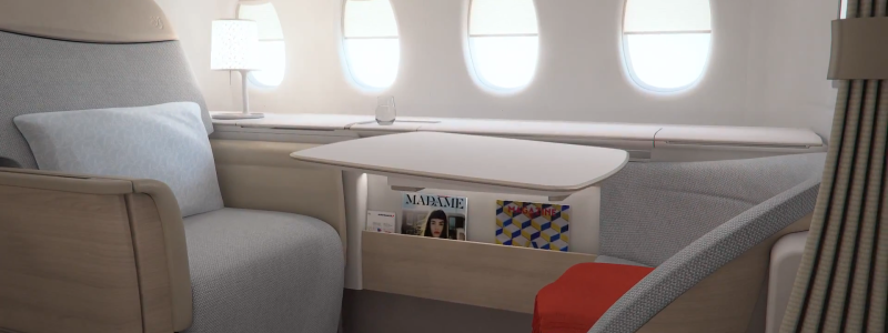 Air France First Class La Première - A designer suite