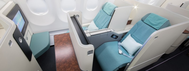 Korean Air new business class Prestige Suite