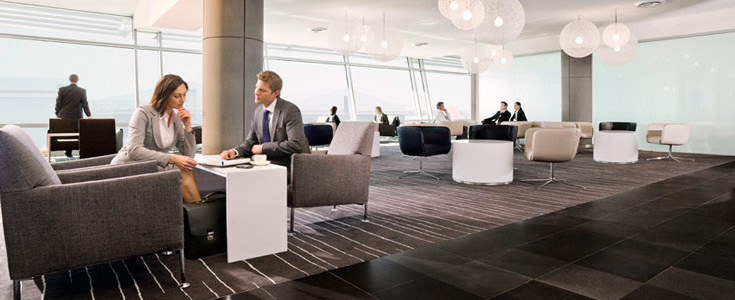 Qantas Business Lounge