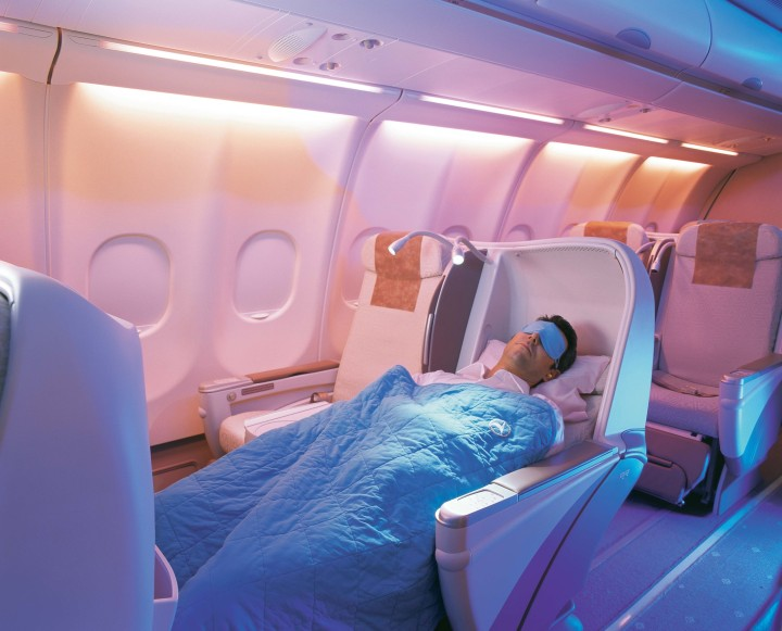 Turkish Airlines gamla business class Airbus A330