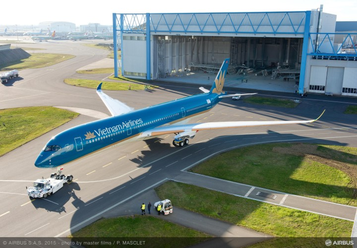 Vietnam Airlines Airbus A350-900 in Toulouse