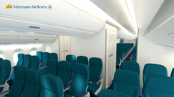 Vietnam Airlines Economy Class Airbus A350