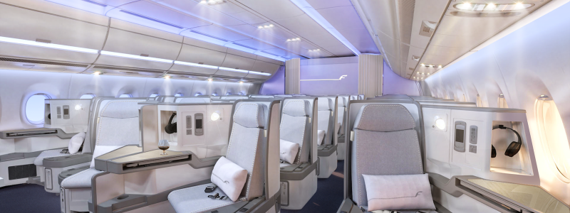 Finnair Business Class Airbus A350