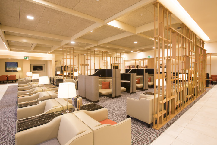 Singapore Airlines SilverKris Business Class lounge London Heathrow Terminal 2