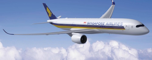 Singapore Airlines Airbus A350 XWB