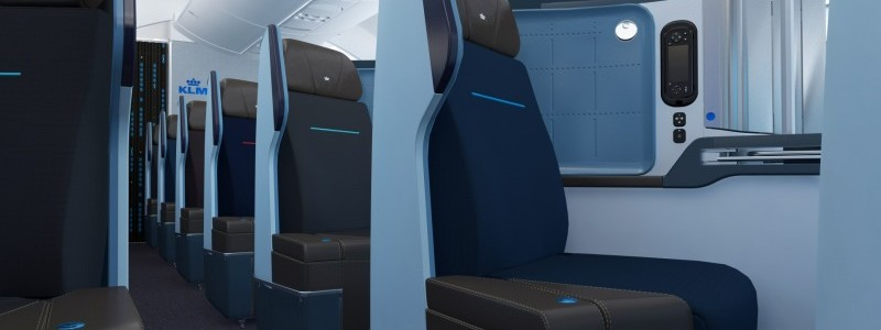 KLM World Business Class Boeing 787 Dreamliner